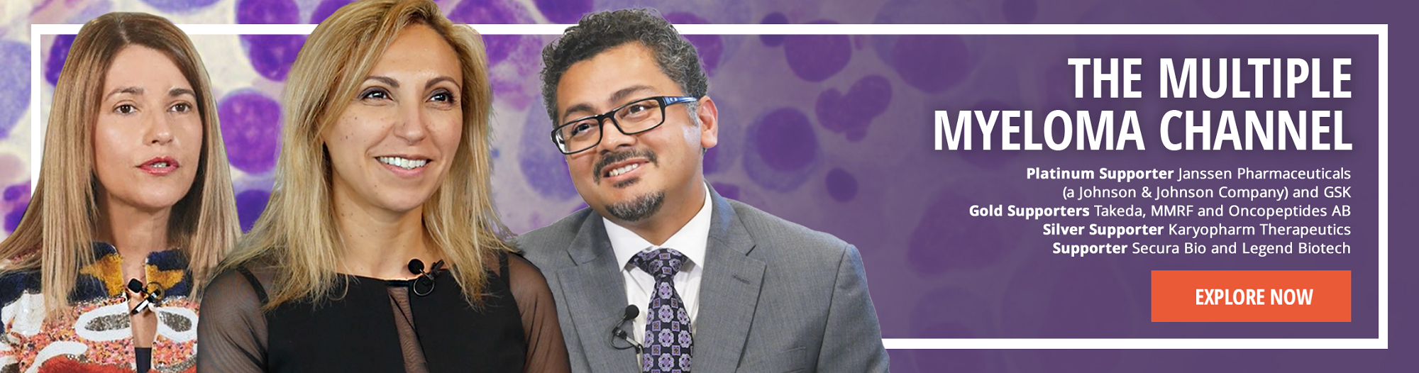 Watch the Multiple Myeloma Channel